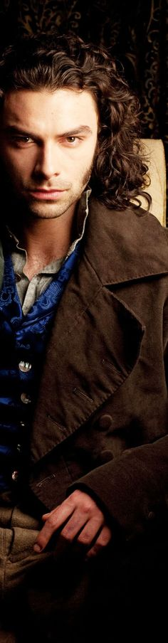 "Aidan Turner as Dante Gabriel Rossetti in ""Desperate Romantics"""