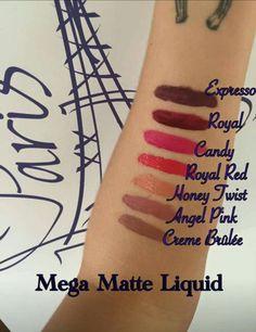 Matte Liquid Lipstick love this swatch