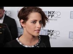 """Kristen Stewart talks about Olivier Assayas's """"Clouds of Sils Maria"""" at its U. premiere during the New York Film Festival. Juliette Binoche plays an a. Sils Maria, Kristen Stewart, Red Carpet, Clouds, Youtube, Youtubers, Youtube Movies, Cloud"""