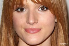 .@bellathorne's face #superzoom