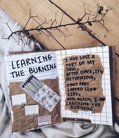 i had lost a part of my soul after days, it's returning, that part looked like fire, and again, i am learning the burning // art journal + poetry by Noor Unnahar https://www.instagram.com/noor_unnahar/ ✨  // journaling, flatlay, crafts, scrapbooking, diy, notebook, tumblr aesthetics, photography, instagram ideas inspiration, words, passion, quotes, illustration, lifestyle creative bloggers,poem by Noor Unnahar //
