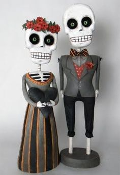 Day of the Dead Married Couple