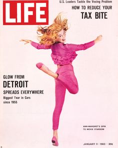 On this day in LIFE magazine — January 11, 1963: Ann-Margret's spin to movie stardom See photos of Ann-Margret in LIFE here.