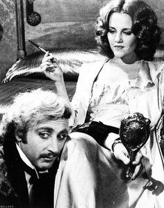 """Gene Wilder and Madeline Kahn in """"Young Frankenstein"""", (1974)."""