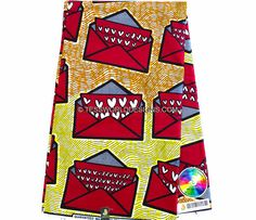 This African print is 100% cotton java print and machine washable.  It is ideal for making African outfits , African quilts , Africa skirts, Upholstery , for finishing your projects,  home decor, quilting and many more.  Width: 46 ins  Main colors: Red, orange and yellow.  Color may be different due to your monitor