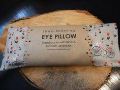 Lavender Rice Meditation Eye Pillow by PuraVidaCreative on Etsy