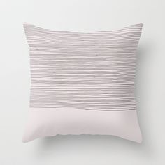 Stripe Throw Pillow by siobhaniaa Bed Pillows, Pillow Cases, Design, Pillows