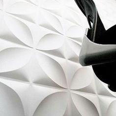 Wall flats - sculptural wall/ceiling tiles