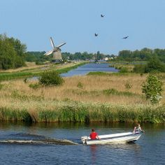 Nature park and recreation area het Twiske located northwest of Amsterdam, The Netherlands by Ben