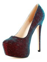 Glitter Burgundy Stiletto Heel Almond Toe Platform Pumps For Women. Enjoy unbeatable discounts up to 70% Off at Milanoo using Coupon & Promo Codes.
