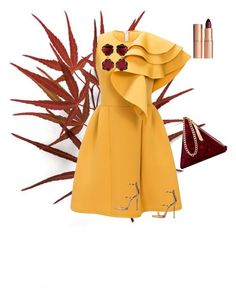 """Momiji"" by georgeta-sesurschi on Polyvore featuring beauty, Street Level, Giuseppe Zanotti, Charlotte Tilbury and Annoushka"
