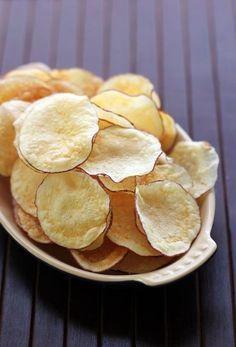 Aprenda a fazer chips de batata doce no forno