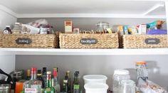 pantry organization tips, closet, kitchen design, organizing