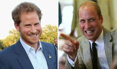 THE Duke of Cambridge burst out laughing when a cheeky mum asked for his brother Prince Harry's mobile number today.