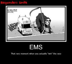 EMS: always trying to win the race