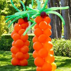 Have this balloon column Palm Tree at your next backyard party! At Balloon 'n Novelty we have an assortment of balloons, including a wide variety of animal twisting balloons! BALLOON-N-NOVELTY. Aloha Party, Luau Party, Beach Party, Diy Party, Balloon Palm Tree, Rainbow Balloon Arch, Palm Trees, Twisting Balloons, Hawaian Party