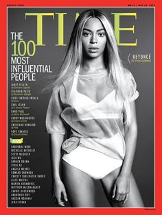 Beyoncé Covers Time's 'Most Influential'
