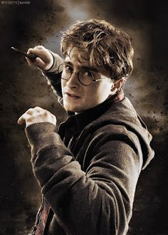 Daniel Radcliffe as Harry Potter. Daniel Radcliffe Harry Potter, Harry James Potter, Harry Potter Tumblr, Harry Potter Hermione, Harry Potter World, Fantasia Harry Potter, Magia Harry Potter, Arte Do Harry Potter, Harry Potter Pictures