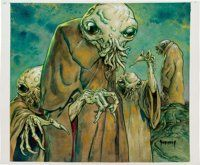 Original Comic Art:Illustrations, Mike Dubisch Star Wars: The Unknown Regions Page 127Illustration Original Art (Wizards of the Coast, 2010). ...