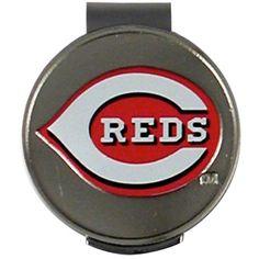 McArthur Sports Cincinnati Reds Hat Clip and Ball Marker, Team