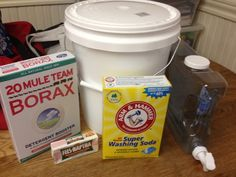 KTP Use this one:Money Savings Tips & Recipes: Homemade Laundry Detergent