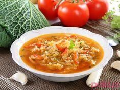 Dietetyczna zupa z kapusty