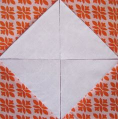 "I'm having a blast with this skill builder sampler, but I must admit, DANG, this week's pinwheel block was a killer! I'm not even a super newbie to HSTs (half square triangles), but for some reason this one literally took an entire evening...sad but true.  Per directions, I did the old ""draw a line corner to corner and sew on each side"" trick for all 10 pairs...so much cutting, so much sewing, so much trimming! But somewhere around my third episode of Law & Order, as..."