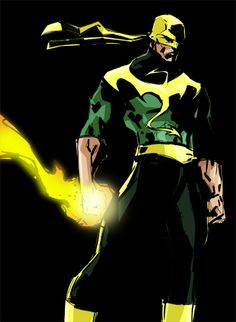 Iron Fist Redesign ♥ ♥ Please feel free to repin ♥♥ www.unocollectibles.com