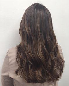 Empress Hair Brisbane - Monique - Brunette Balayage Curls Long Thick