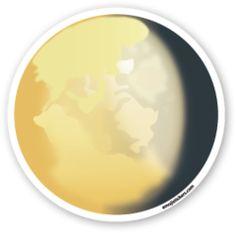 Waning Gibbous Moon Symbol | Emoji Stickers