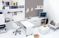 Small Space Solutions: Five Double-Duty Workspaces | Apartment Therapy