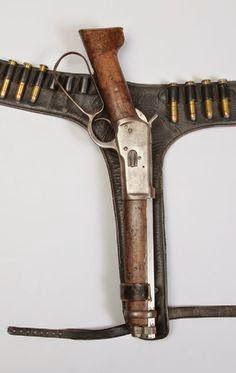 Indian Blanket Gun - aka Mare's Leg Rifle