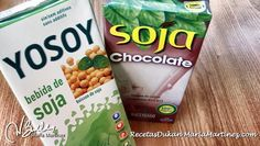 Leche de Soja (Soya) y dieta Dukan