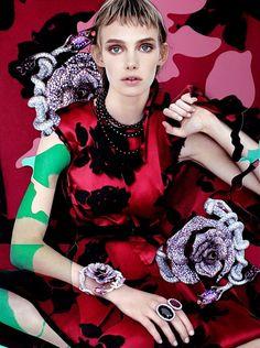 ArtList - Photography - Damien Blottiere - FASHION & BEAUTY - Vogue Gioiello September 2013