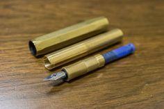 Review: Kaweco Brass Sport Fountain Pen — nib & ink