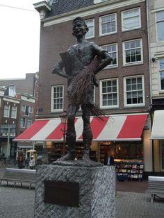 Carel Kneulman, Het Lieverdje, Spui, Amsterdam.