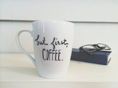 But first, coffee. Mug for National Coffee Day.