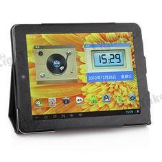 PU Leather Case for ONDA V811 Dial Core,Quad Core Tablet PC Black