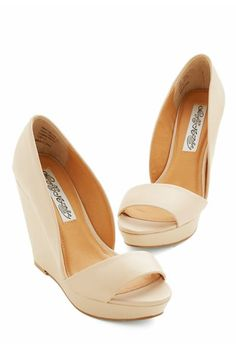Check out these 15 wedding-worthy #wedges ...all for under $150! {WeddingWire}