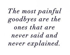 "The definition of ""goodbye"" - from life dictionary"