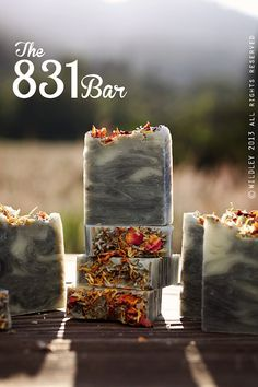 The 831 Bar Flower Power  Cold Processed Soap by WILDLEY on Etsy, $8.00