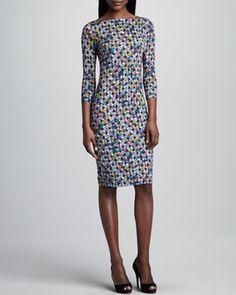 Erdem Mixed Print Sheath on shopstyle.com