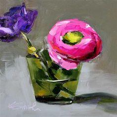 "Daily Paintworks - ""focus"" - Original Fine Art for Sale - © Kim Smith"