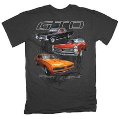 Pontiac GTO First Muscle Automobile Car T-Shirt Tee-xxxl: Officially licensed GM T-shirt. Back of shirt reads GTO First Muscle and featurels the and 1967 Pontiac GTO. Shirts For Leggings, Tee Shirts, Big And Tall Stores, Big And Tall Outfits, Muscle T Shirts, Shirts For Teens, Branded T Shirts, Mens Fashion, Pontiac Gto