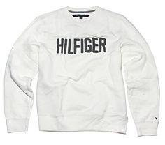 Tommy Hilfiger Men's Heritage Sweatshirt, Essex Ivory, X…