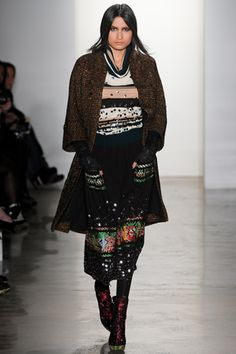 Yes, I do just want to wear bedazzled vintage sweaters all the time. Is that a problem? fall 2012 ready-to-wear Libertine
