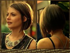 Don't you just love Willa Holland's new bob #haircut from new season of #ARROW! Thea getting ready to kick some ass and she is doing it with style! - short-hair-style.com - Google+