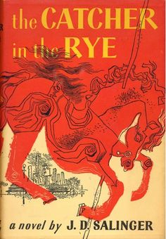 """The Catcher in the Rye"" by J. D. Salinger. One of the most prized editions in my home library."