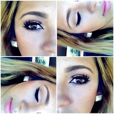 Make up look by Monica. IG: DoubleBeautyGlam