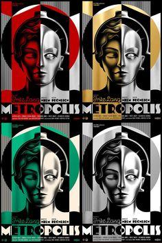 Metropolis Robot, Metropolis Poster, Metropolis Fritz Lang, Metropolis 1927, Poster Art, Film Images, American Dad, Unusual Art, Retro Futurism